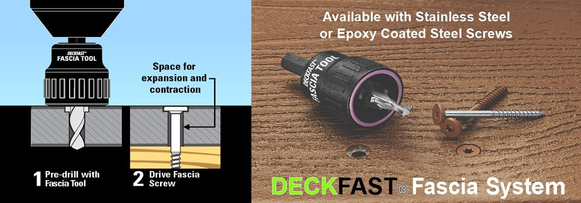 DeckFast Fascia Screws