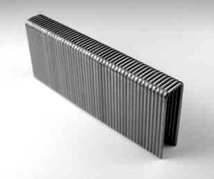L series narrow crown 18 gauge staples type 316 stainless steel. Salt water safe