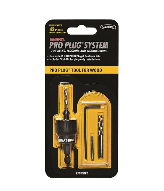 Smart-Bit® Pro Plug™ Tool for Wood