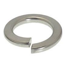 Stainless Steel Split Lock Washers - 5/16