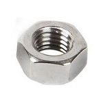Stainless Steel Hex Nuts - 1/4