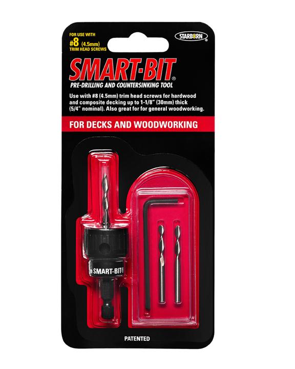 Smart-Bit&reg Pre-drilling & Countersinking Tool